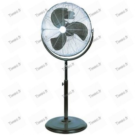 O cromo 30 cm inclinación ventilador