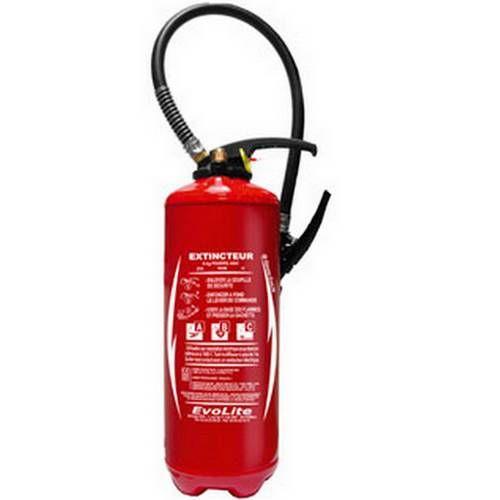 ABC, extintor de polvo de 6 kg