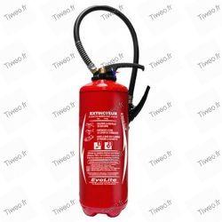 Com aditivo EPA 6 litros extintor de água