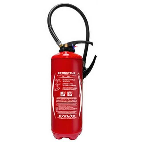Fire extinguisher water with additive EPA 6 litres
