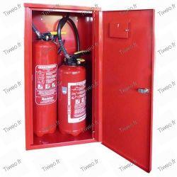 Fire extinguishers of 2 kg CO2 carbon dioxide