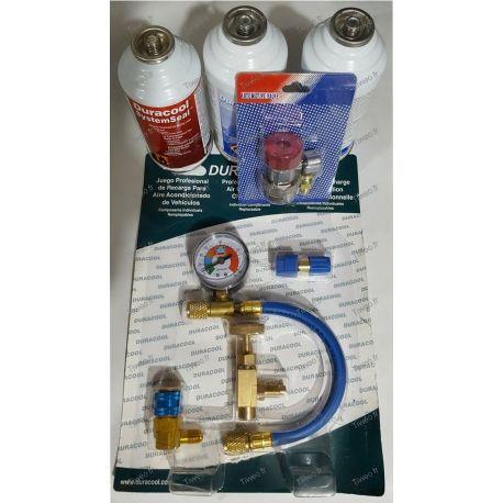 Kit de conversão de ar condicionado R12 - R134