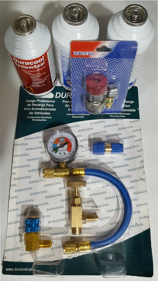 Conversion Kit air conditioning R12 - R. 134