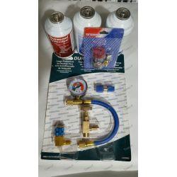 Kit de conversão de ar condicionado R12 - R. 134