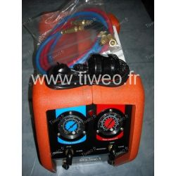 Station recovery of refrigerants R410A included