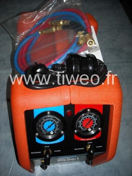 Station de récupération de fluides frigorigènes R410A compris