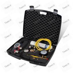 Kit nitrogen for leak detection of air conditioning