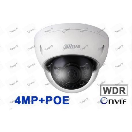 Caméra Dahua 4MP mini Dôme Réseau IP