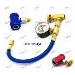 Anschluss klimaanlage für kältemittel HFO 1234yf