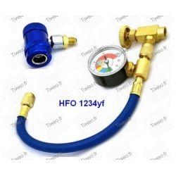 Anschluss aufladen HFO 1234yf niederdruck