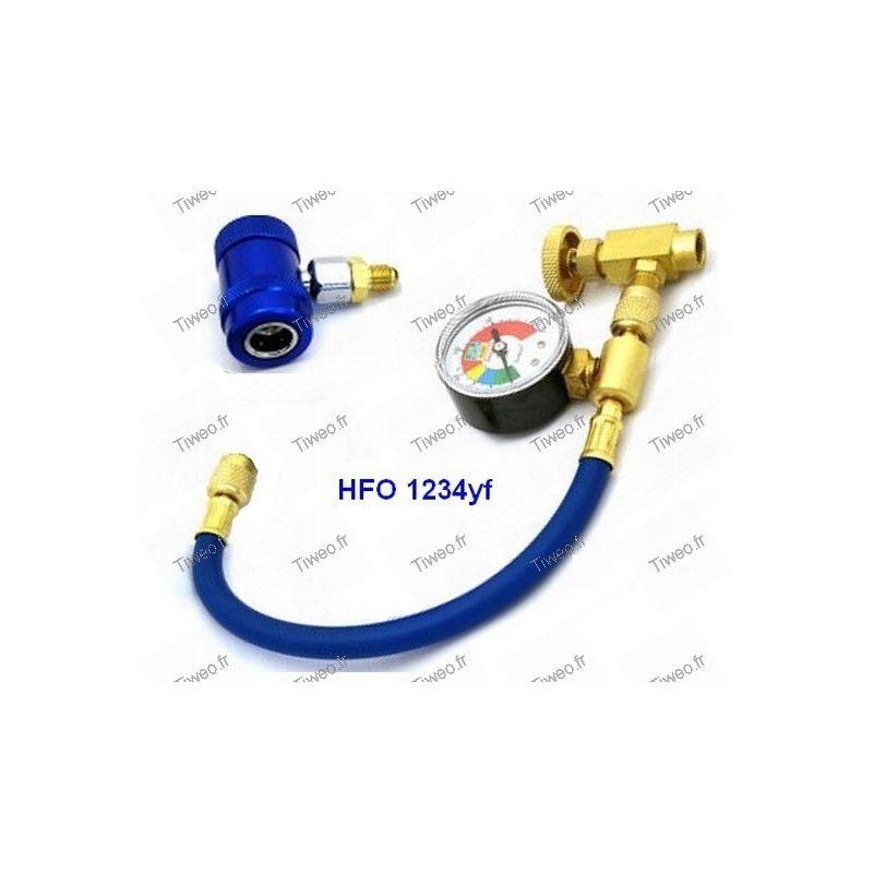 Raccord rapide HFO 1234 yf  basse pression