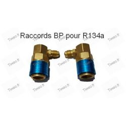 Lot von zwei anschlüssen R134 BP