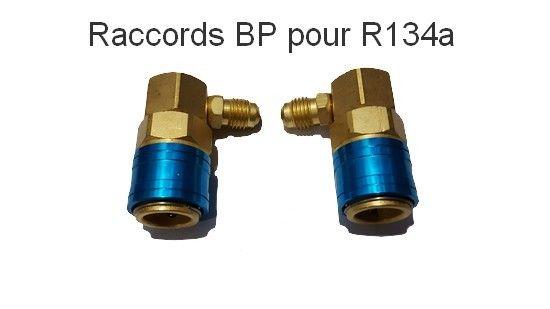 Lot de deux raccords R134 BP
