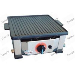 Plancha-reversible gas-förderung