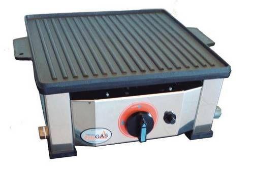 Plancha reversible de gas promoción