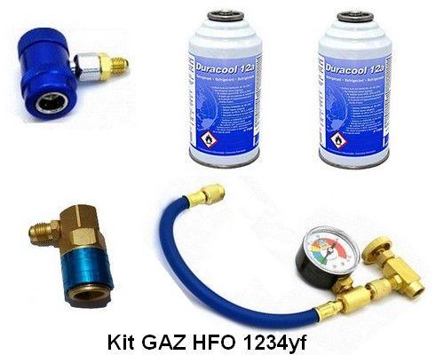 Ar condicionado carregando HFO 1234yf