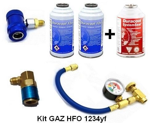 Gaz et anti fuite climatisation HFO 1234yf