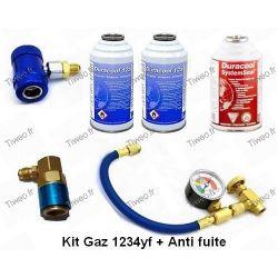 Recharge et anti fuite climatisation HFO 1234yf