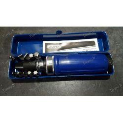 Destornillador de impacto con accesorios y puntas