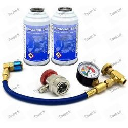 Ladda luftkonditionering gas med Skruvsats R134a R12