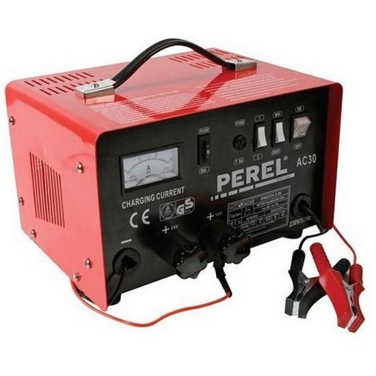 Carregador de bateria de 12/24 V com função de reforço de 20 A