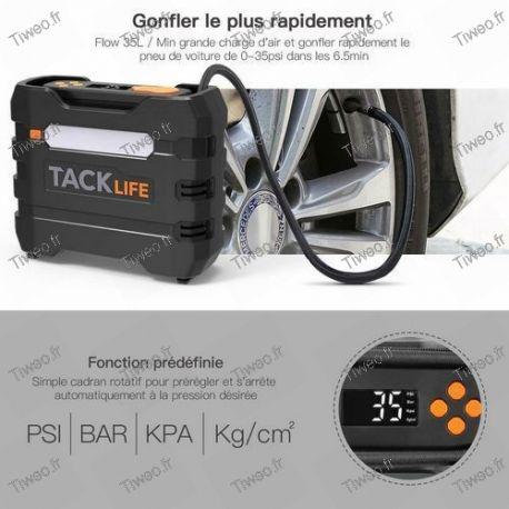 Compresseur de voiture 12V Gonfleur Pneu 12V Portable 4 Adaptateur