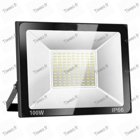 LED floodlight 100W cold white 8000LM 6000K