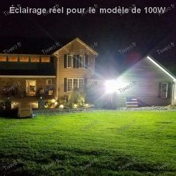 Projecteur LED 100W blanc froid 8000LM 6000K
