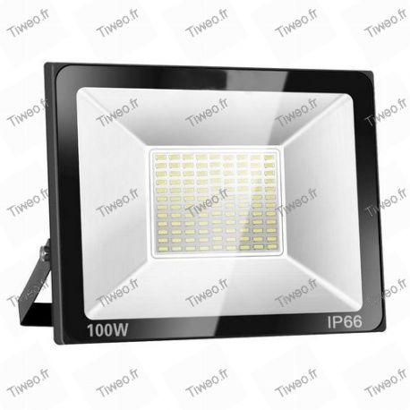 Holofote LED 100W branco frio 8000LM 6000K