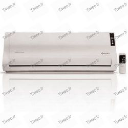 Heating radiator blowing air conditioner appearance