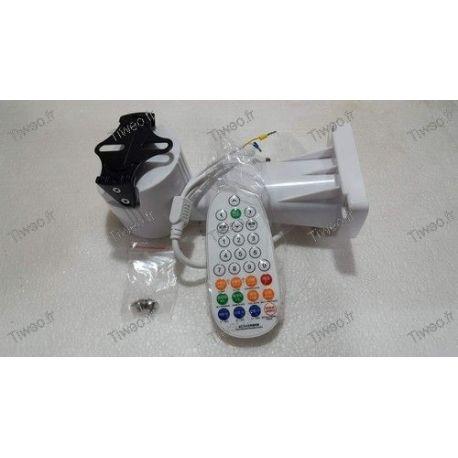 Support motorisé pour caméra de surveillance