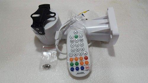 Suporte motorizado com controle remoto para câmera de vigilância