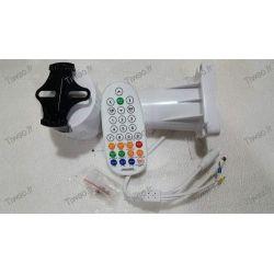 Support motorisé avec télécommande pour caméra de surveillance
