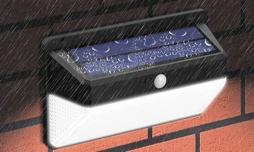 Lâmpada solar ao ar livre LED de alta potência