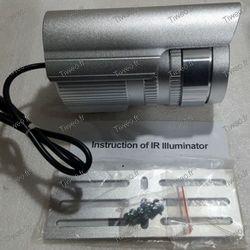 Projecteur infrarouge pour caméra de surveillance 100 mètres de portée 120 degrès