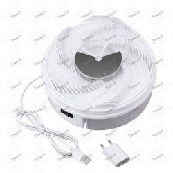 Piège à mouche rotatif électrique