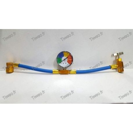 Automotive air conditioning charging hose R134