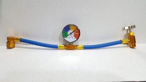 Flexible car air conditioning recharging R134