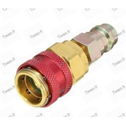 Low pressure to high pressure R134 adapter