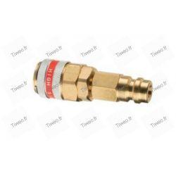 Coupleur Pro R134a basse pression vers haute pression