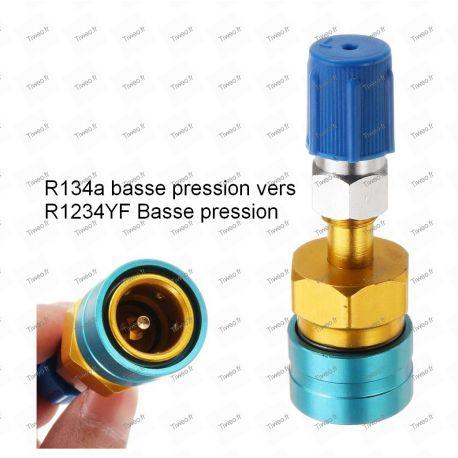 Adaptateur R134 basse pression vers haute pression