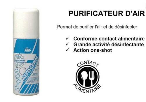 Desinfetante de fumaça Coronavirus Virucide Covid-19