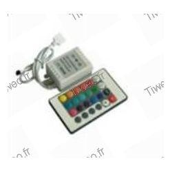 Mando a distancia para tira de led de color RGB