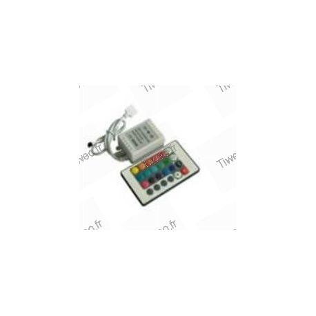 Controle remoto para faixa de led colorida RG