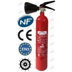 2kg carbon dioxide (CO2) extinguisher