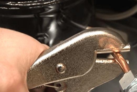 Pellizcar para sellar refrigerante especial de cobre