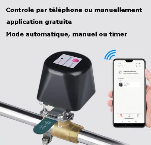 Válvula de torneira wifi inteligente, rega automática