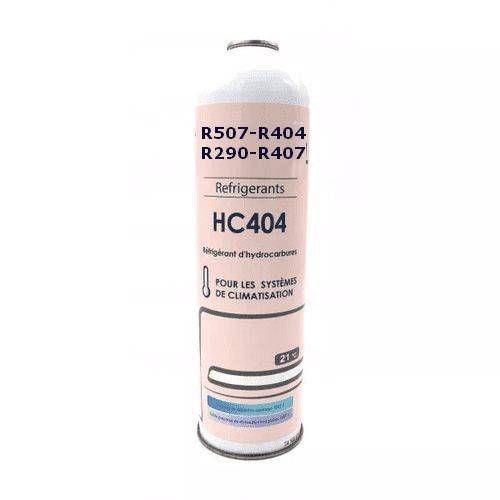 Gasauflader R407C, Gas-Set R507, Gas für R404 und R290