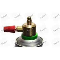 High-quality valve faucet for R600a gas bottle