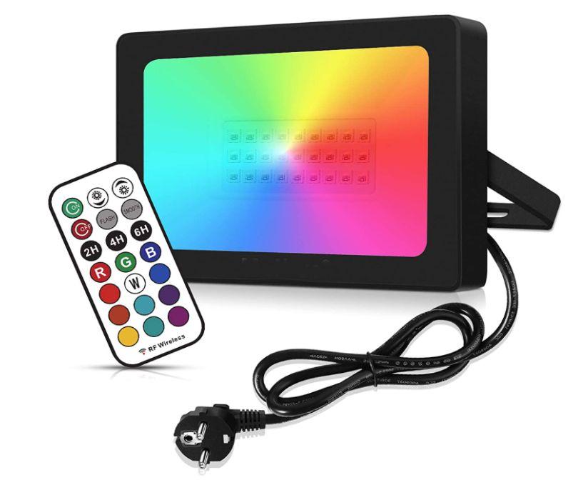 Spot LED de 270 RGB + control remoto